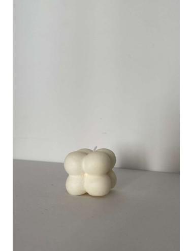 Vela Mini Bubble Blanca